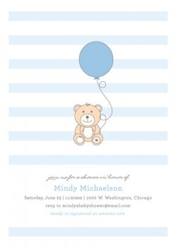 Bear and Balloon