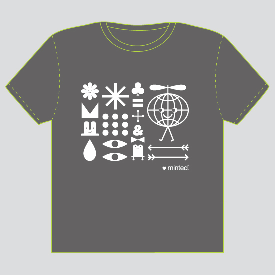 minted t-shirt design - Minted World by ERAY