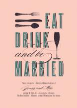 Eat, Drink and be Marri... by Serenity Avenue