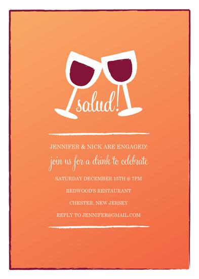 party invitations - Salud! by Jen Serafini
