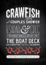 Crawfish & Couples by Paper Nest by Lesa