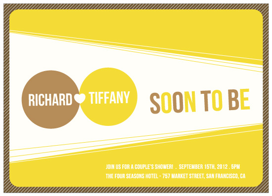 party invitations - Soon to be  by Thy Tran