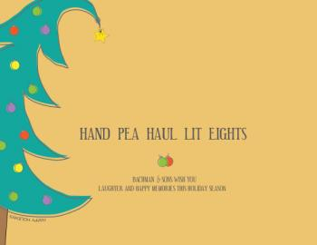 Hand Pea Haul Lit Eights