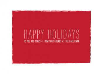 Holiday Hello Business Holiday Cards