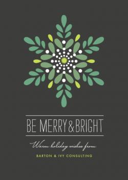 Luminosity Business Holiday Cards