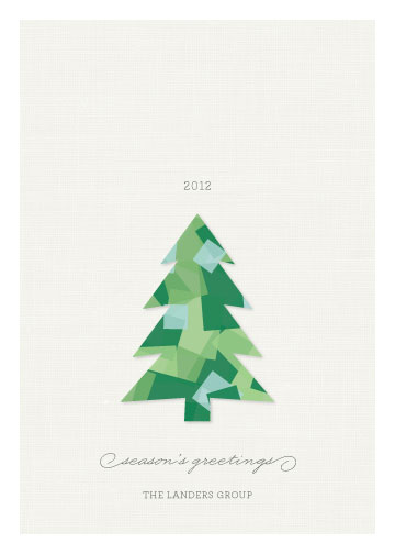 business holiday cards - Cut Paper by Sandra Picco Design