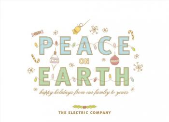 Peace on Earth Business Holiday Cards