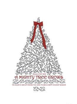A Mighty Tree Business Holiday Cards