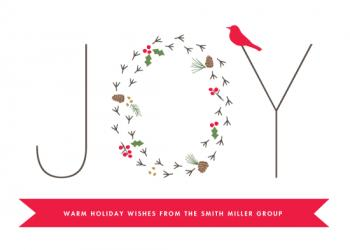Winter Joy Business Holiday Cards