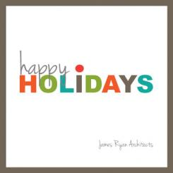 Urban Cheer Business Holiday Cards