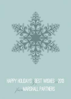 softsnowflake Business Holiday Cards