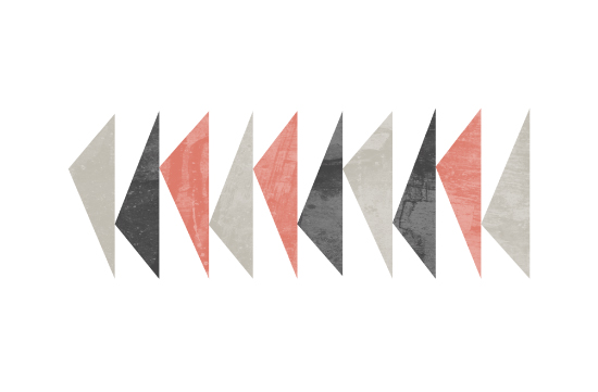 art prints - Modern Triangle by Stacey Meacham