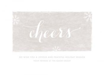 a peaceful holiday Business Holiday Cards