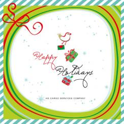 Jack Bird Business Holiday Cards
