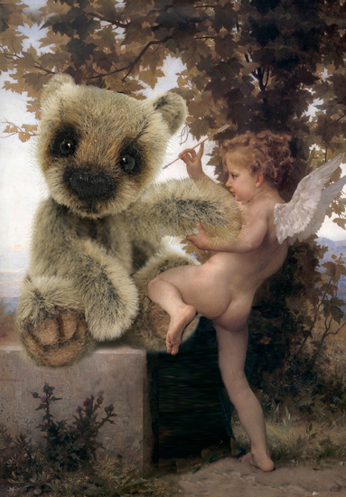 art prints - Baby Cupid by Jessica Termini