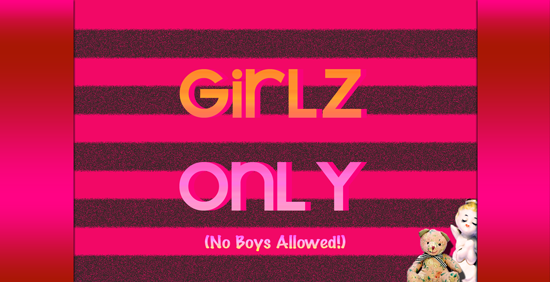 art prints - Girlz Only Signage by Jessica Termini