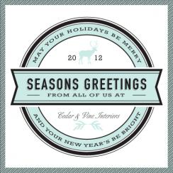 authentic Business Holiday Cards