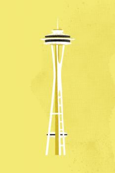 Seattle Space Needle Flare