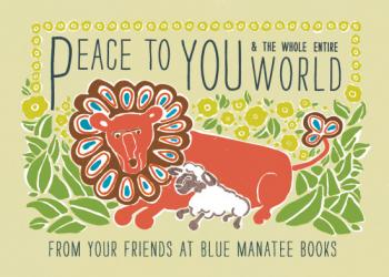 Peace to You Business Holiday Cards