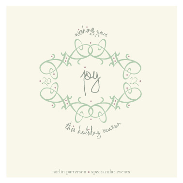 business holiday cards - Twining of Joy by Maggie Ziomek