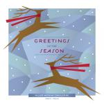 Joyful Reindeer by Laura Bolter Design