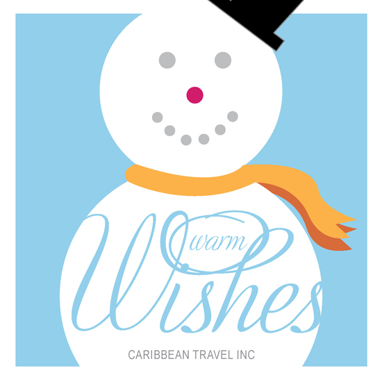 business holiday cards - Warm Frosty by Ana Gonzalez