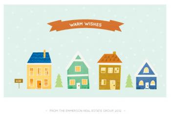 Warm wishes Business Holiday Cards