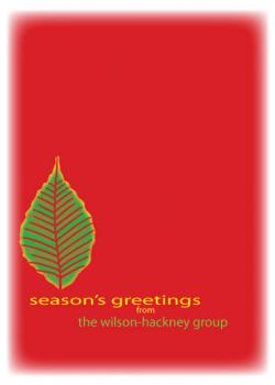 Simply Season Greeting Business Holiday Cards