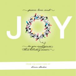 JOY Lights Business Holiday Cards