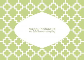 Moroccan Holiday Business Holiday Cards
