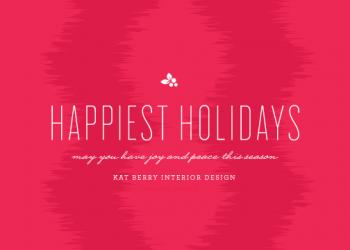 Berry Business Holiday Cards