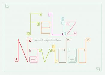 Feliz Navidad Business Holiday Cards