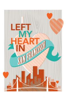 left my heart~san francisco