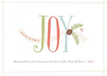 Joy & Felicity Business Holiday Cards