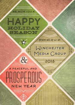 Manhattan Business Holiday Cards
