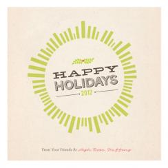 Holiday Burst Business Holiday Cards