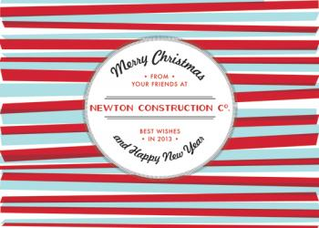A Throwback Christmas Business Holiday Cards