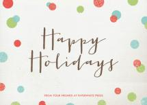 Dotty Holiday by Leslie Ann Jones