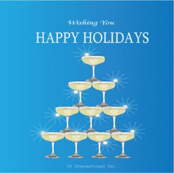 Happy Holidays Business Holiday Cards