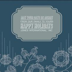Be Merry Holiday Card Business Holiday Cards