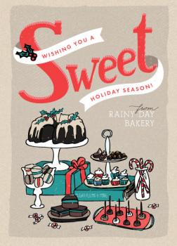 A Sweet Holiday Business Holiday Cards