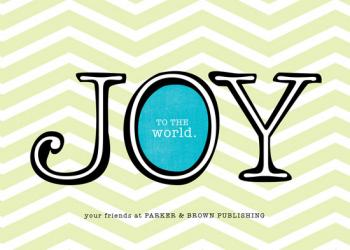 The Joyful Type Business Holiday Cards