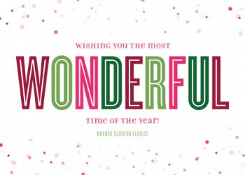 Wonderful Business Holiday Cards