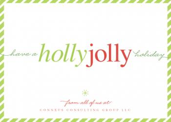 don't worry. be jolly. Business Holiday Cards