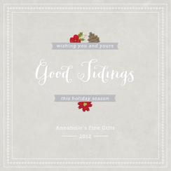 Good Tidings Business Holiday Cards