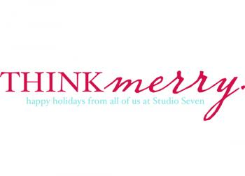 Think Merry Business Holiday Cards