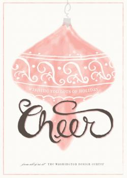 Vintage Cheer Business Holiday Cards