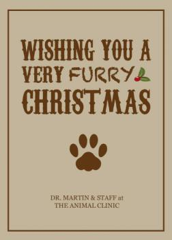 A VERY FURRY CHRISTMAS Business Holiday Cards
