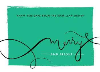 Overflowing Merry Business Holiday Cards