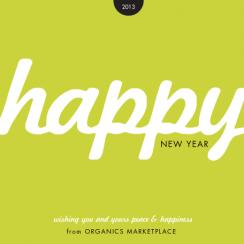 the happy type Business Holiday Cards